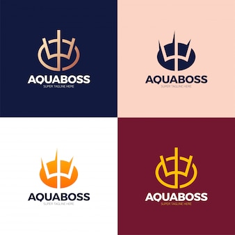 Elementi di design del logo ucraina