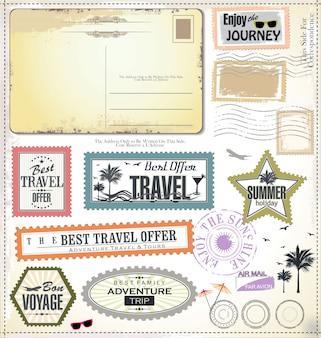 Elementi di design di viaggio