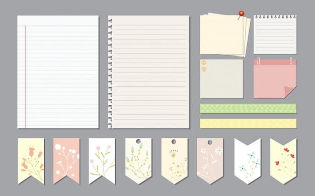 Elementi di design per notebook