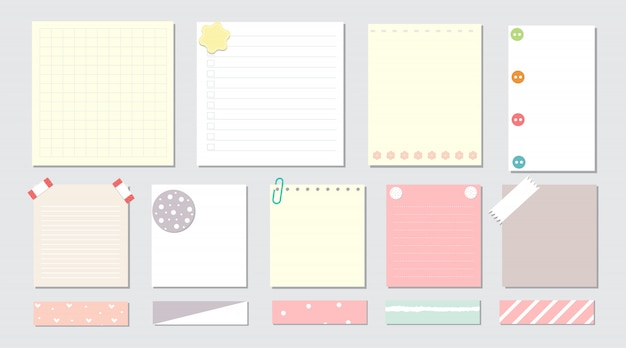 Elementi di design per notebook