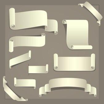 Elementi di disegno della carta
