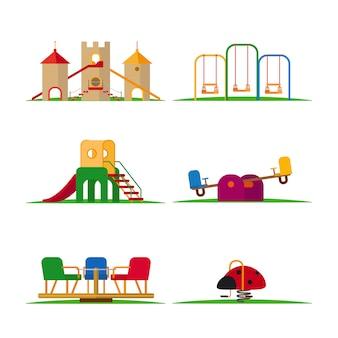 Elementi di gioco per bambini