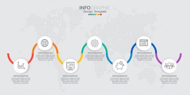 Elementi di infografica per contenuto, diagramma, diagramma di flusso, passaggi, parti, tempistica, flusso di lavoro, grafico.