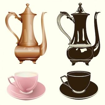 Elementi di tè collezione