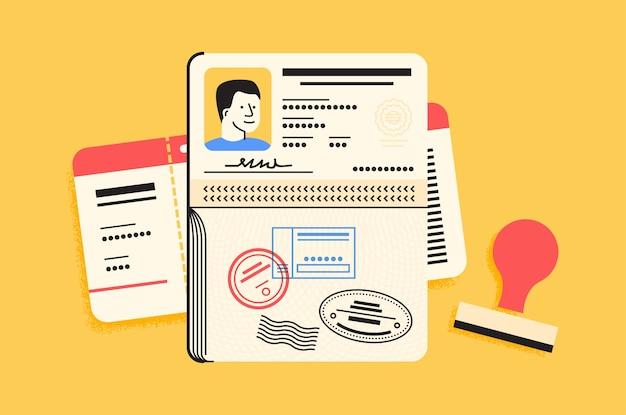 Elementi essenziali per il passaporto