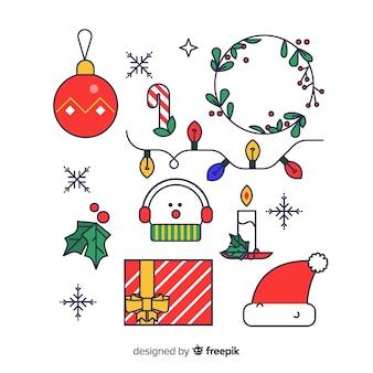 Elementi lineari natalizi