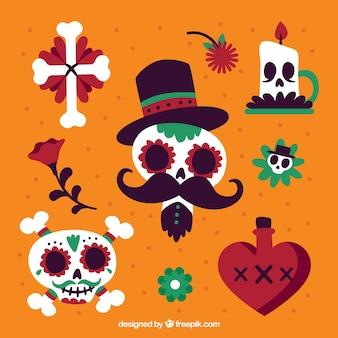 Elementi messicani con stile moderno