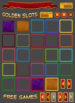 Elementi per gioco di slot