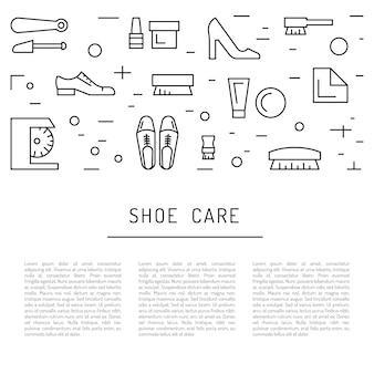 Elementi per la cura delle scarpe