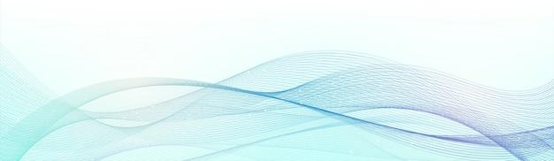 Elemento di design creativo delle onde astratte.