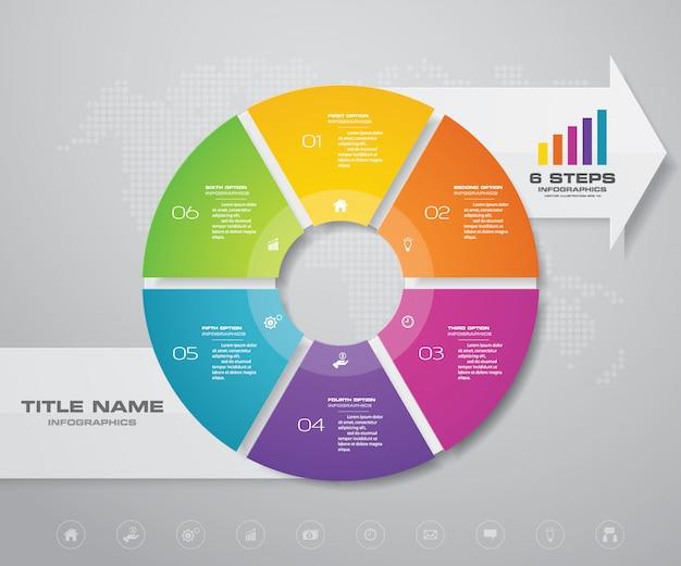 Elemento di design infografica.