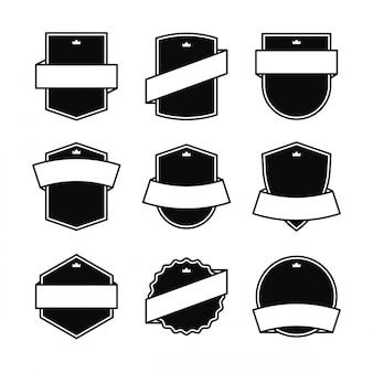 Elemento di disegno del blocchetto in bianco