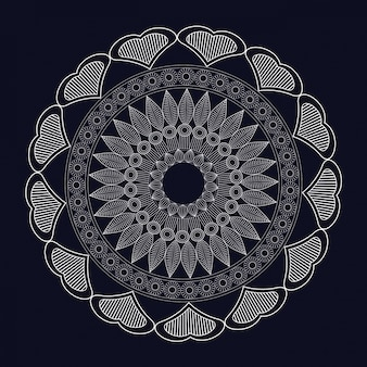 Elemento di meditazione mandala