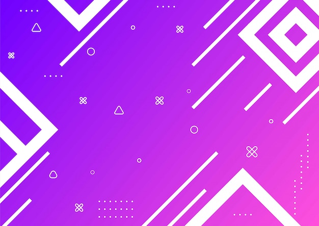 Elemento grafico di gradiente forma geometrica sfondo