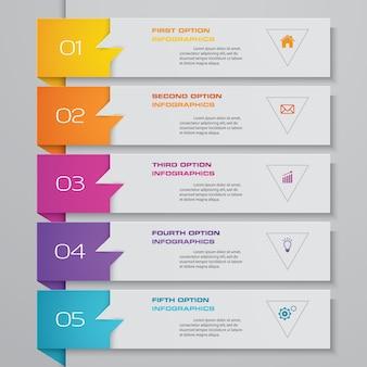 Elemento grafico infografica.