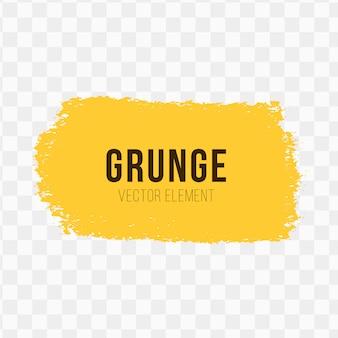 Elemento vettoriale grunge