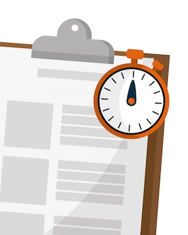 Elenco di controllo e cronometro