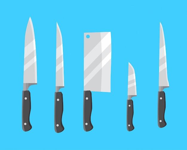 Elicotteri set di coltelli