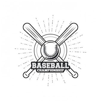 Emblema del campionato di baseball