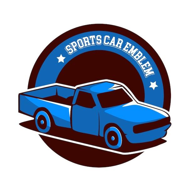 Emblema del logo di camion auto
