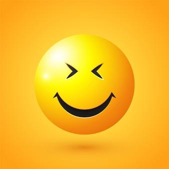 Emoji faccia simling