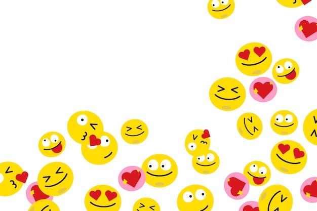 Emoji galleggianti