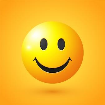 Emoji viso sorridente