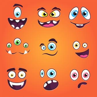 Emozioni dei mostri