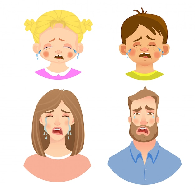 Emozioni del volto umano