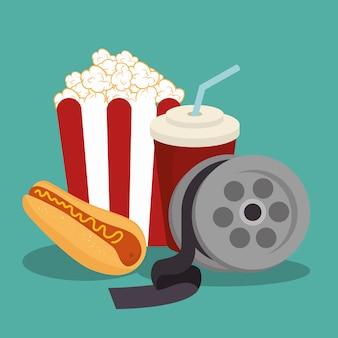 Enterainment del cinema pop corn