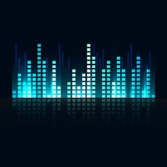 Equalizzatore di onde sonore