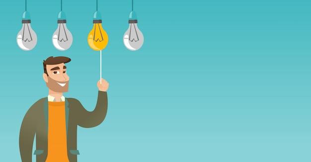 Equipaggi avere l'illustrazione di vettore di idea di affari.