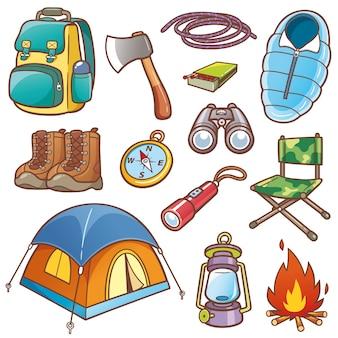 Equipaggiamento da campeggio