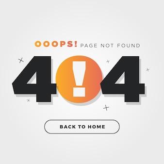 Errore 404 sign