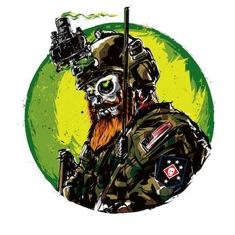 Esercito cranio