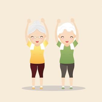 Esercizio delle persone anziane