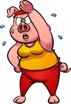 Esercizio di maiale