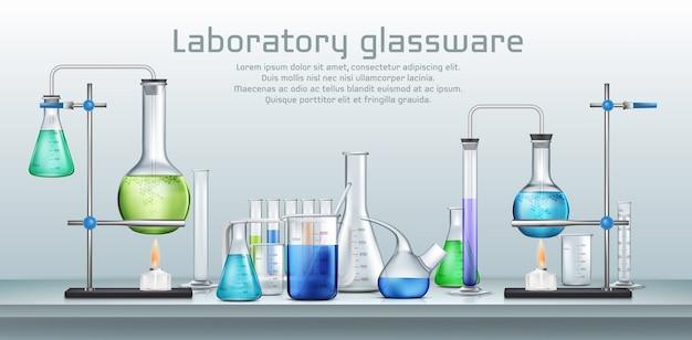 Esperimento di laboratorio chimico