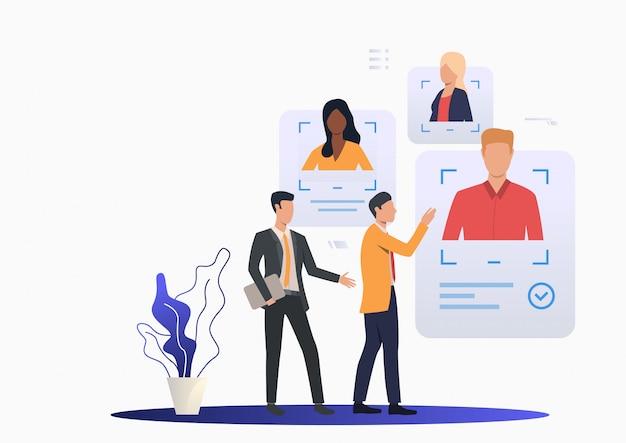 Esperto delle risorse umane nella consulenza di aziende leader