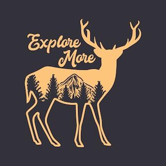 Esplora altre citazioni con silhouette di cervo