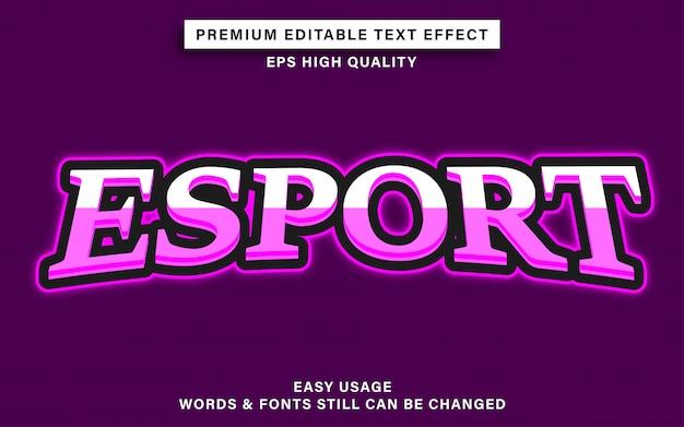 Esporta l'effetto del testo in stile