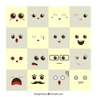 Espressioni dell'umore belle
