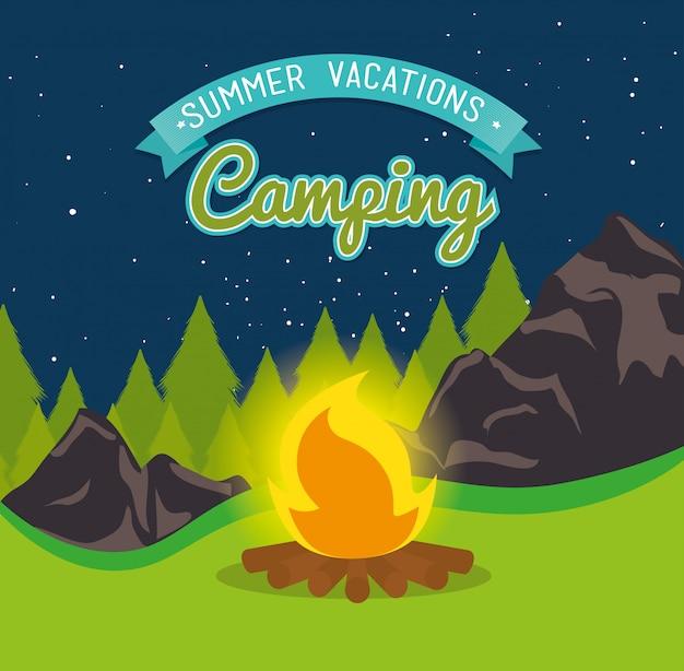 Estate in campeggio e viaggi