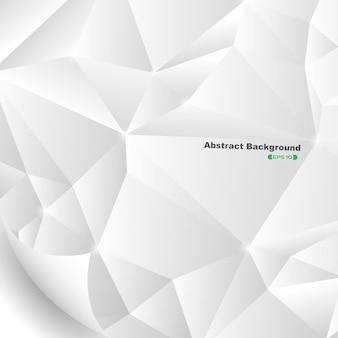 Estratto del fondo grigio del modello di pentagono.