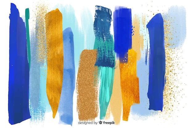 Estratto di pennellate di sfondo
