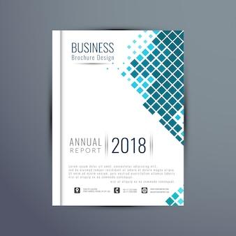 Estratto elegante modello di brochure di business