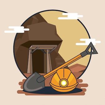 Estrazione minerale per attrezzature minerarie