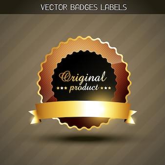 Etichetta del prodotto originale