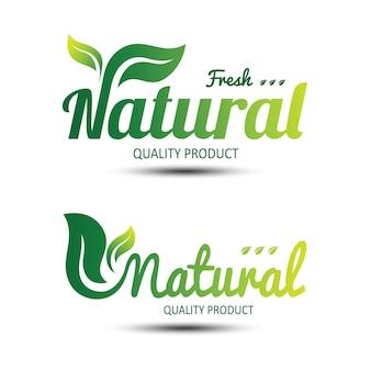 Etichetta della natura