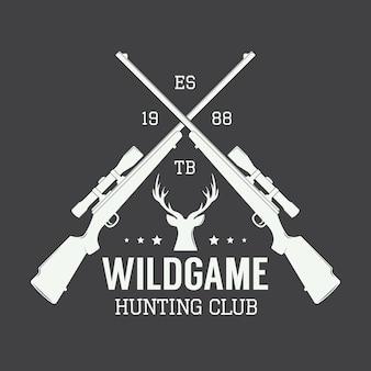 Etichetta di caccia